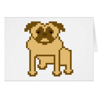 Pixel Pug Card