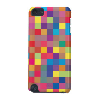 Pixel Rainbow Square Pattern iPod Touch (5th Generation) Case