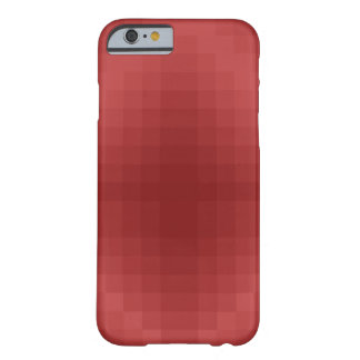 Pixel red barely there iPhone 6 case