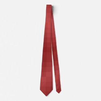 Pixel red tie