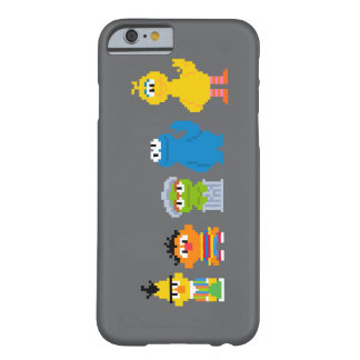 Pixel Sesame Street Characters Barely There iPhone 6 Case