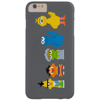 Pixel Sesame Street Characters Barely There iPhone 6 Plus Case