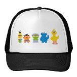 Pixel Sesame Street Characters Hats