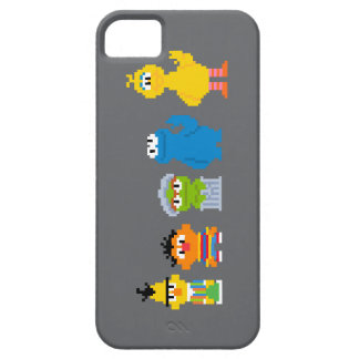 Pixel Sesame Street Characters iPhone 5 Case