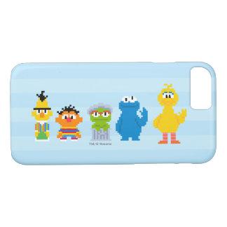 Pixel Sesame Street Characters iPhone 7 Case