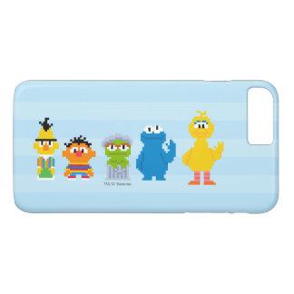 Pixel Sesame Street Characters iPhone 8 Plus/7 Plus Case