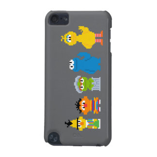 Pixel Sesame Street Characters iPod Touch (5th Generation) Cases