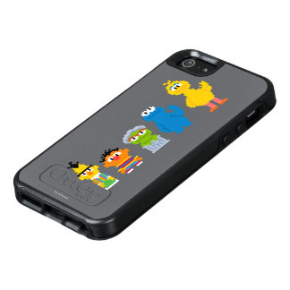 Pixel Sesame Street Characters OtterBox iPhone 5/5s/SE Case