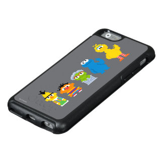 Pixel Sesame Street Characters OtterBox iPhone 6/6s Case