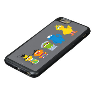 Pixel Sesame Street Characters OtterBox iPhone 6/6s Plus Case