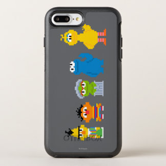 Pixel Sesame Street Characters OtterBox Symmetry iPhone 8 Plus/7 Plus Case