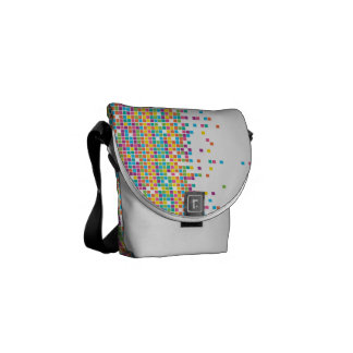 Pixel Small Messenger Bag