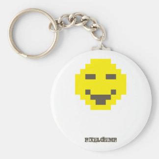 Pixel_Smiley Keychains