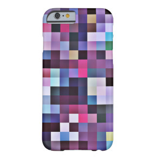 Pixel Squares iPhone 6 case - purples
