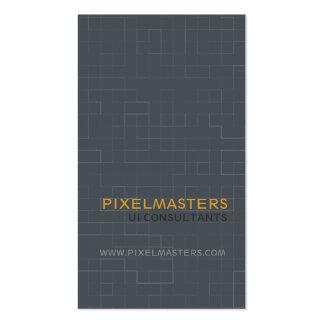Pixel Tech Business Card Template
