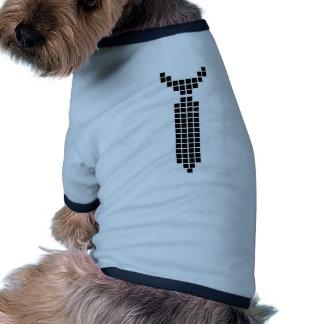 Pixel Tie - Shirt Dog T Shirt