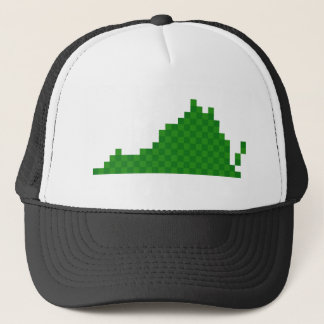 Pixel Virginia Trucker Hat