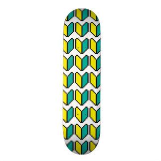 Pixel Wakaba / Shoshinsha Mark Skate Board