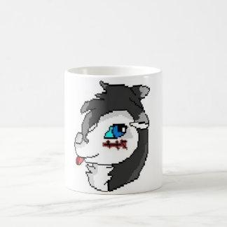Pixel Wolf Mug Basic White Mug