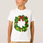 Pixel Wreath T-Shirt
