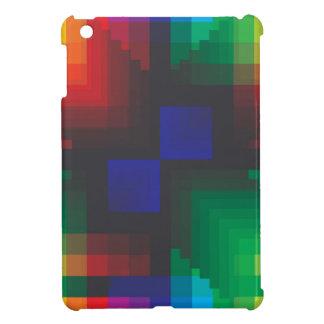 Pixelated Abstract of Coachella Love iPad Mini Cases
