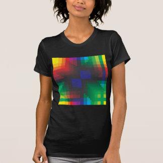 Pixelated Abstract of Coachella Love T-Shirt