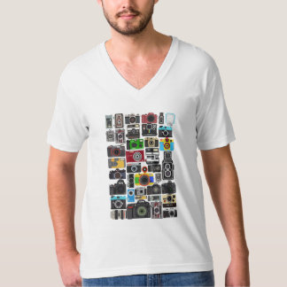 Pixelated Cameras Tshirt