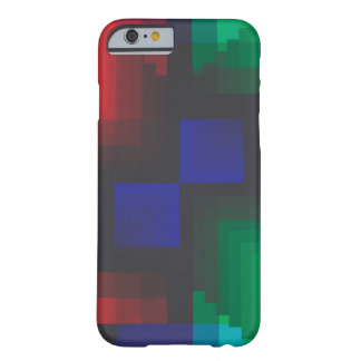 Pixelated Coachella Abstract of Love Barely There iPhone 6 Case