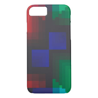 Pixelated Coachella Abstract of Love iPhone 7 Case