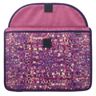 Pixelated Purple Laptop Sleeve Sleeve For MacBook Pro
