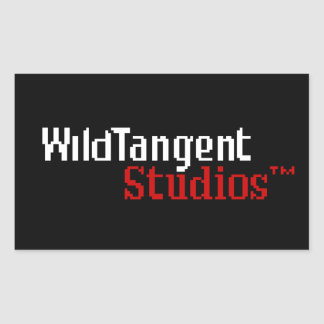 Pixelated WildTangent Logo Stickers