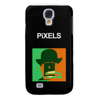Pixels iPhone 3G/3GS Hard Shell Black Case Galaxy S4 Case