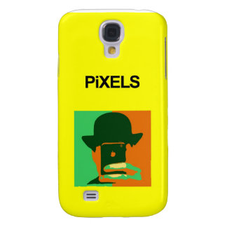 Pixels iPhone 3G/3GS Hard Shell Yellow Case Galaxy S4 Case