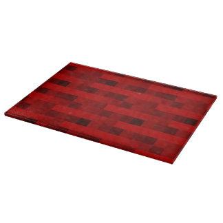 Pixels red cutting board