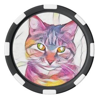 Pixie1 Art10 Poker Chips