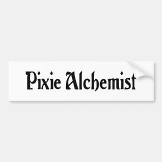 Pixie Alchemist Bumper Sticker