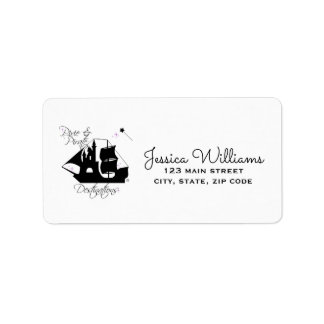 Pixie and Pirate Destinations Address Labels