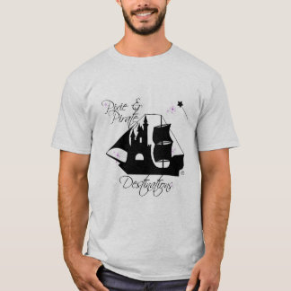 Pixie and Pirate Destinations Men's Shirt