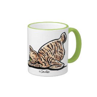 Pixie-Bob Pounce Ringer Mug