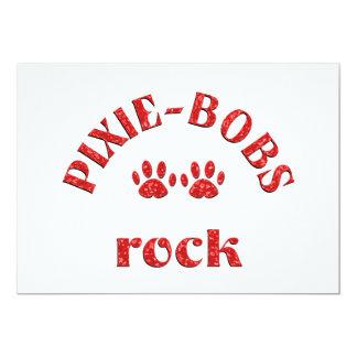 Pixie-Bobs Rock 13 Cm X 18 Cm Invitation Card