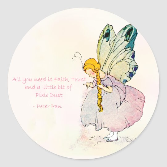 Pixie Dust Faerie Stickers