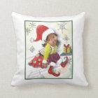 Pixie Elf Girl girls accent pillow