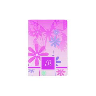 Pixie Flower Butterflies 2 Passport Holder