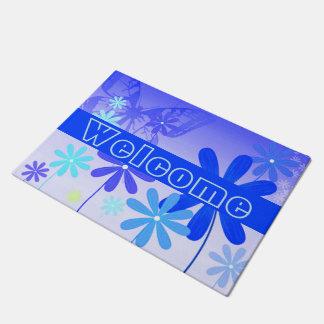 Pixie Flower Butterflies 3 Doormat