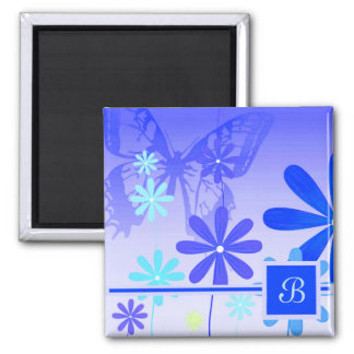 Pixie Flower Butterflies 3 Magnet