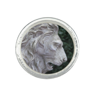 Pixie Globes - Majestic Lion ring