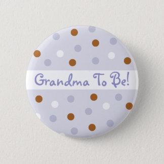 Pixie Polka Dot Grandma To Be Pin