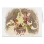 Pixie Tea Party Greeting Card