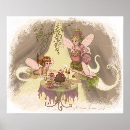 Pixie Tea Party Poster