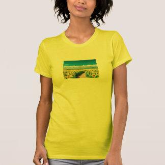 PIYOBIGI sunflower T-Shirt